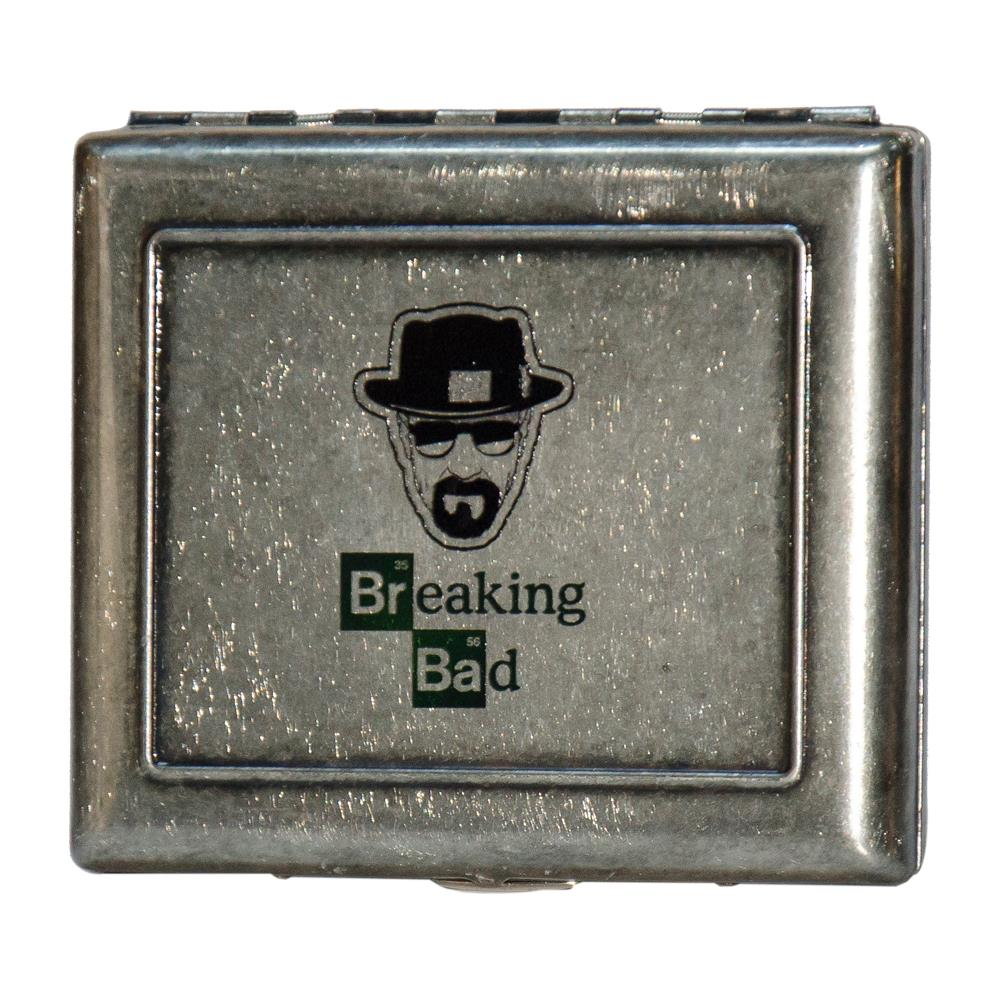 Maço Breaking Bad Desen Metal Sigara Tabakası